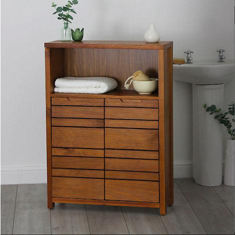Phenomenal Dark Wood Bathroom Cabinet Chiltern Download Free Architecture Designs Scobabritishbridgeorg