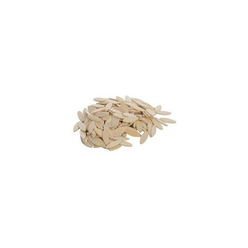 Image of 5553 Size No. 20 Biscuits Laminated Hardwood Joiner Wood Joints - 200 Pack - Dart