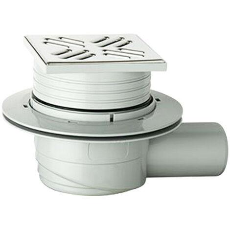 D'aspiration de la barrière siphon OMP étage ABS 105X105mm 265.201.8