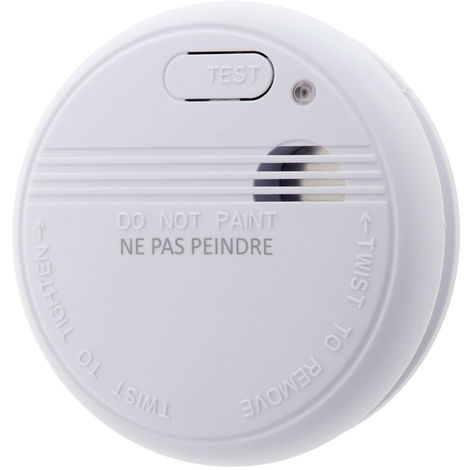 Détecteur de fumée NF - Garantie 5 ans - Autonomie 3 ans - A l\'unité ou en lot - Otio