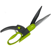 Davaon Pro Swivel Hand Garden Shears - 360 Rotating Scissors - Great Lawn Grass, DeadHeading, Small Hedge Tool