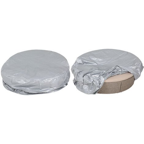 Day Bed Cover Protection Covering Round Tarpaulin Protective Tarp Sun Lounger