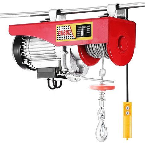 DazHom®Palan électrique à force de traction 400kg ,850W