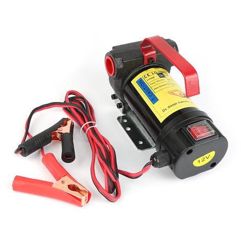 DazHom®Set de pistolets auto-obturants pour pompe de transfert de carburant 12V
