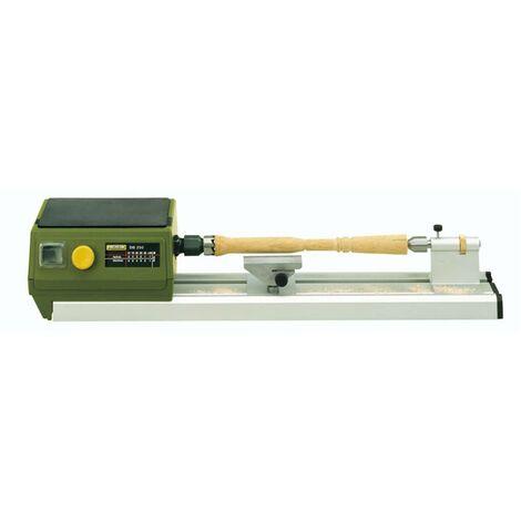 DB 250 - Micro-tour à bois entrepointe 250 mm livré avec 6 pinces de serrage Proxxon