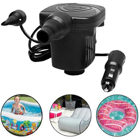 Dc 12V Electrique Portatif Pompe A Air Matelas Pneumatique Bateau Voiture Auto Air Gonflable Pompe Pour Voiture Camping Gonfleur 50W