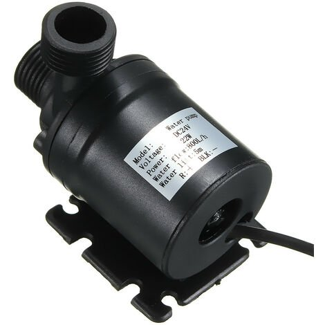 """main image of """"DC 24V 5M 800L / H Brushless Solar Water Pump Submersible Magnetic For Mohoo Pond"""""""