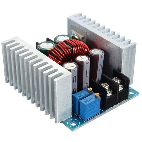 DC-DC convertidor Buck 300W 20A Paso Dowm Modulo de tension ajustable 6 40V 36V a 1,2 voltios Fuente de alimentacion Reductor