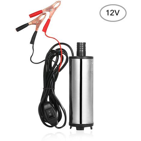 DC12 / 24V DC pompe de puits de petrole pompe de puits d'huile en acier inoxydable pompe aeau pompe d'aspiration d'huile 60W modele: YJ015-B 12V