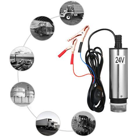 DC12 / 24V DC pompe de puits de p¨¦trole, pompe de puits de p¨¦trole en acier inoxydable, pompe ¨¤ eau, pompe d'aspiration d'huile 60W