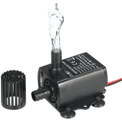 DC12V 5W Ultra-quiet Mini Brushless Water Pump QR50E