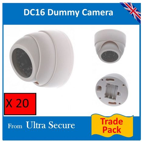 DC16 Dummy Dome Camera (trade pack) [002-0169]