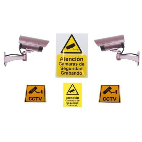 DC2 Dummy Camera & Sign Package (Spanish) [002-0352]