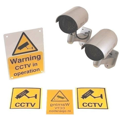 DC2 Dummy CCTV Camera Special Offer Pack [002-0350]