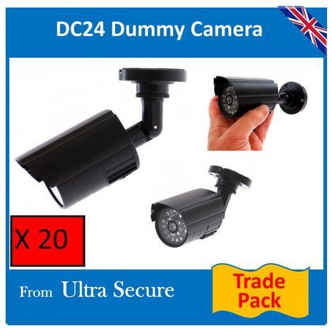 DC24-ir Compact Dummy CCTV Camera (trade pack) [002-0249]