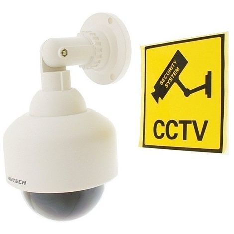 DC25 Dome Indoor & Outdoor Dummy CCTV Camera [002-0250]