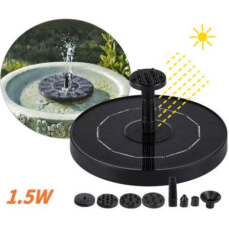 DC30S-0708R pompe ¨¤ eau solaire fontaine jardin cour paysage petite fontaine panneau solaire puissance