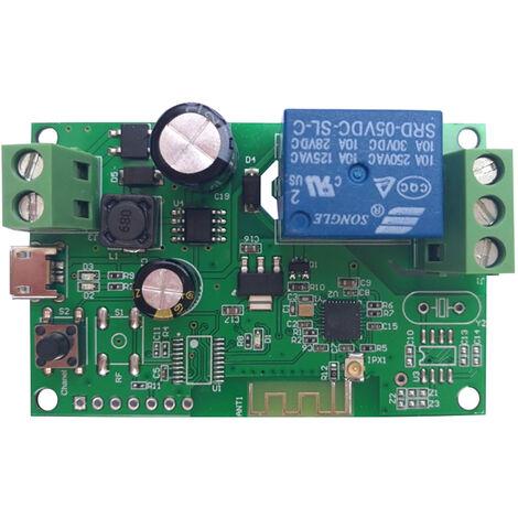 DC5V 12V 24V 32V Interruptor Wifi, Modulo de rel¨¦ inal¨¢mbrico