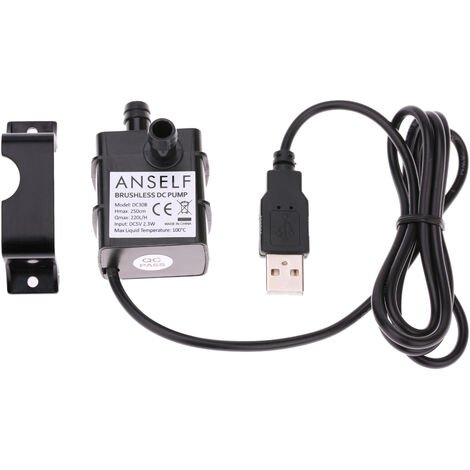 DC5V 2.3W Micro Brushless Water Oil Pump Fountain Pump