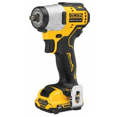 DCF902D2 XR Brushless Sub-Compact 3/8in Impact Wrench 12V 2 x 2.0Ah Li-ion DEWDCF902D2