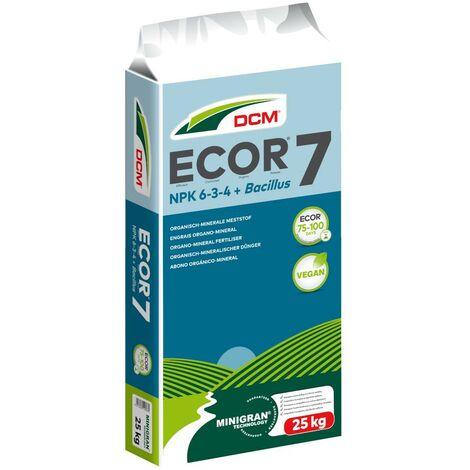 DCM ECO-PLANT 7 25kg engrais universel végétalien, engrais pour légumes, engrais pour fruits, engrais pour gazon
