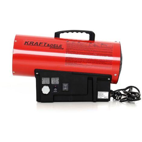 dcraft canon air chaud gaz propane butane 35kw canon chaleur de chantier chauffage