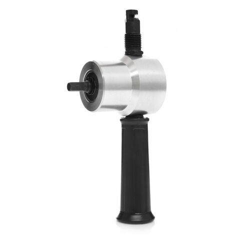 DCRAFT - Cisaille à tôle - Vitesse de coupe 2m/min - Accessoire pour perceuse 3000 tr/min - Noir