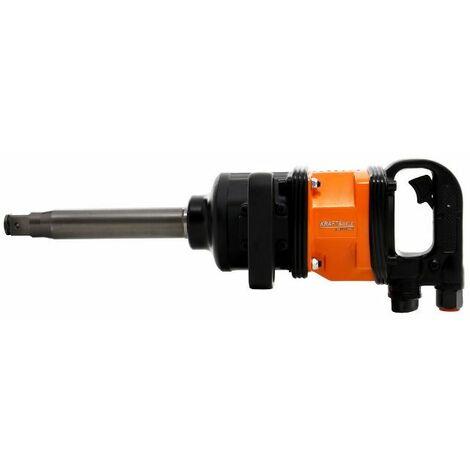 DCRAFT   Clé à choc à air comprimé pneumatique boulonneuse 4800 Nm Raccord 1 0,46 m³/min   Outillage garage   Serrage boulons - Orange/Noir