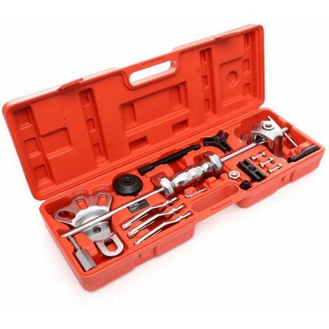 DCRAFT - Extracteur de roulement intérieur - 13 outils - Pour extraire les roulements - Rouge