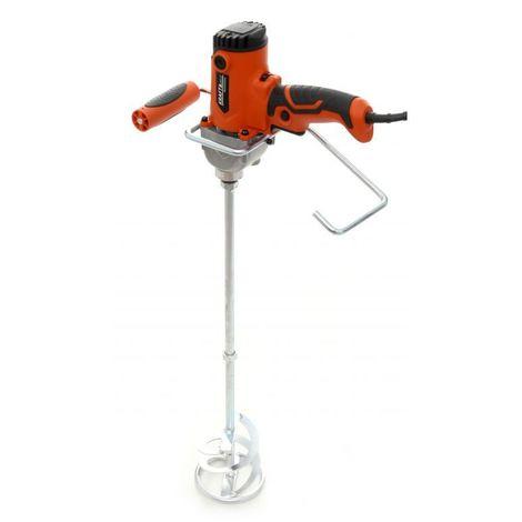 DCRAFT - Mélangeur de peinture / ciment 2750 W  Malxeur agitateur électrique - Filet M14 - Outil chantier atelier bricolage - Rouge
