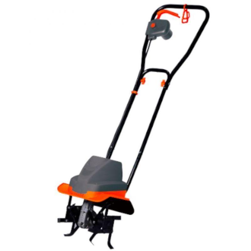 DCRAFT - Motobineuse électrique - Régime moteur 400 tr/min - Puissance : 1500 W - Largeur de travail 300 mm - Outillage jardinage - Noir