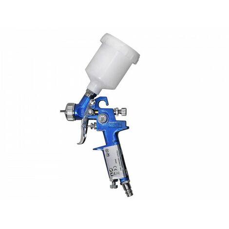 DCRAFT - Pistolet à vernis - Capacité 150 ml - Aiguille 0,8 mm - Pistolet à peinture - Bleu
