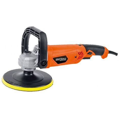 DCRAFT - Polisseuse voiture - Machine à polir électrique - Lustreuse - Puissance 2440 W - Outil entretien voiture/garage - Orange