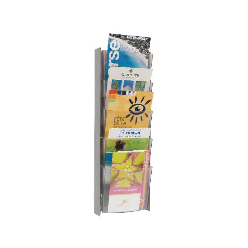 Image of DDPROMMM Wall Display Unit 5-Pocket A5 Metallic - Alba