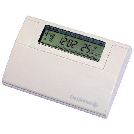 de dietrich 100013138 thermostat d 39 ambiance programmable. Black Bedroom Furniture Sets. Home Design Ideas
