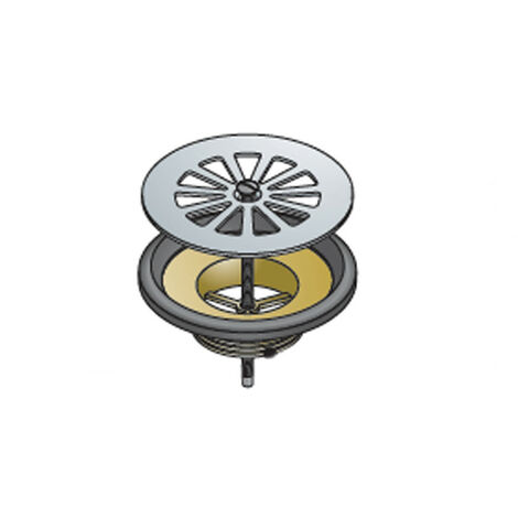 De drenaje en latón OMP para ducha de diámetro 60 1-1/2 55.165.6