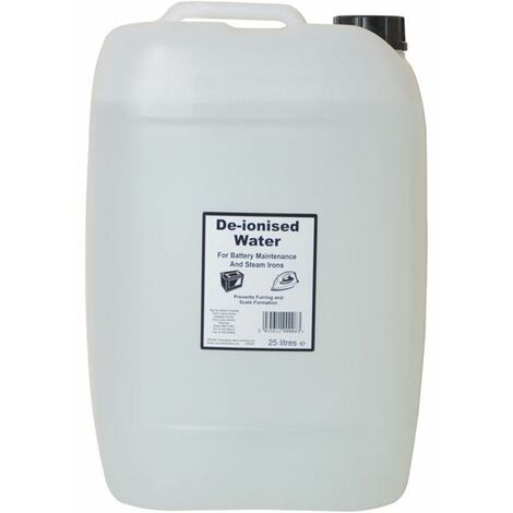 """main image of """"De-ionised Water 25 litres TUW25"""""""