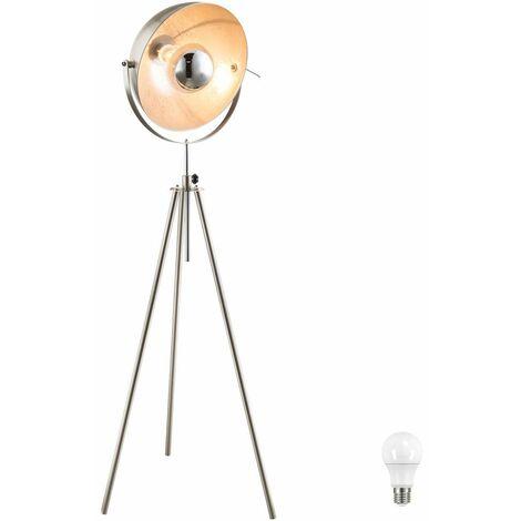 De pie de trabajo Lámpara de salón focos ajustable Conjunto giratoria incl. Lámparas LED