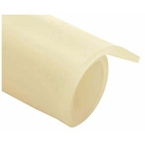de silicona translúcida lámina de caucho de 3 mm de espesor 100x120cm