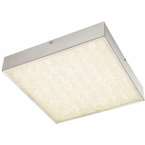 de techo de cristal luz luz de la lámpara cuadrada 18 vatios LED Globo 49226-18