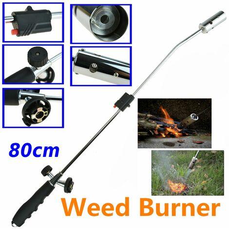 Désherbant réglable incendies pistolets brûleur d'herbe chalumeau chalumeau à gaz polyvalent torche à gaz de soudage pour pique-nique extérieur barbecue et désherbeurs