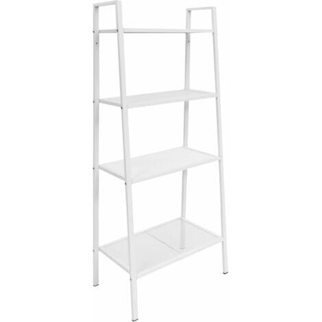Deann Ladder Bookcase by Bloomsbury Market - White