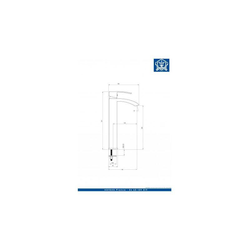 Deante Robinet Mitigeur Salle De Bain Hauteur Vasque Modele Rio Araguaia Bdw020k