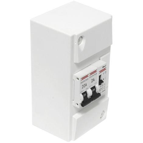 DEBFLEX Tableau électrique pré-câblé pour chauffe-eau