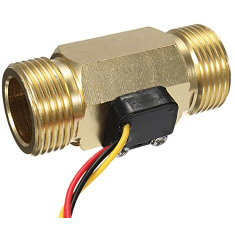 Débitmètre pour tuyauterie 3/4 filetage laiton - GreenIQ