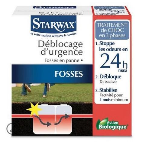 Déblocage urgence pour fosses septiques Starwax - ST0655