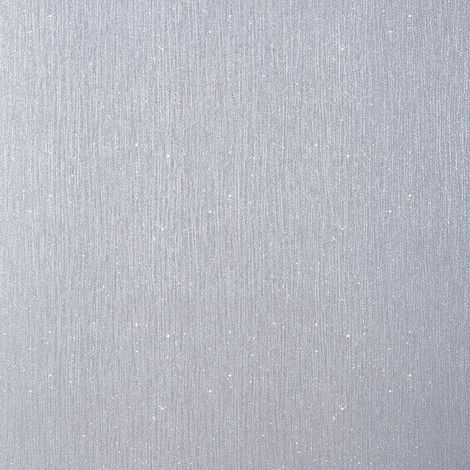 Debona Crystal Plain Grey Glitter Wallpaper