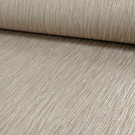 Debona Crystal Plain Pattern Textured Stripe Glitter Motif Vinyl Wallpaper (Gold 9002)