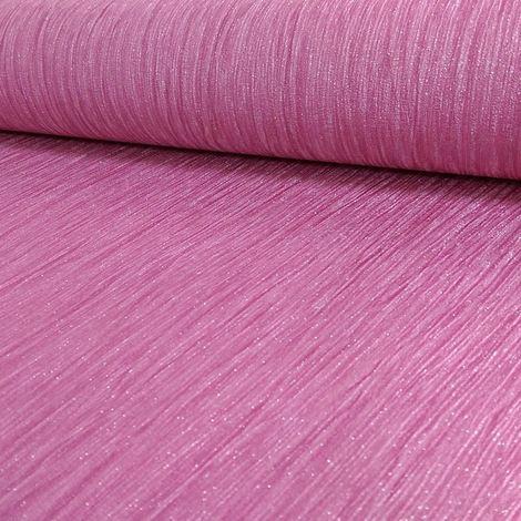 Debona Glitter Effect Shimmer Glittery Encrusted Pink Vinyl Wallpaper