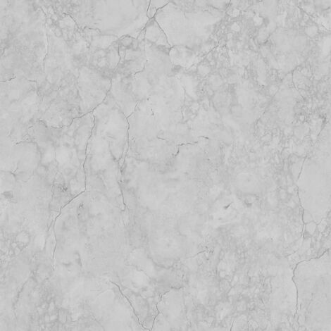 Debona Marble Pattern Wallpaper Realistic Faux Effect Textured Metallic Motif (Grey 9018)